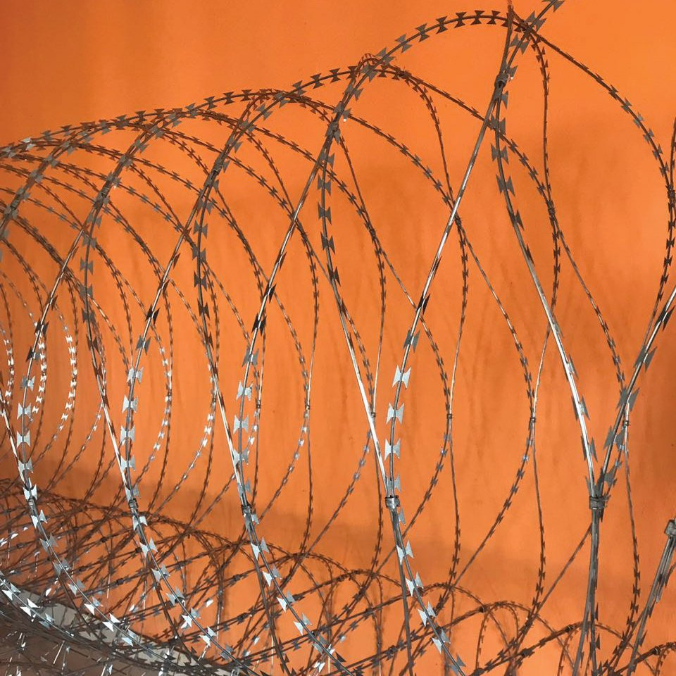 Mobile Razor Wire Barriers Rapid Deployment Perimeter