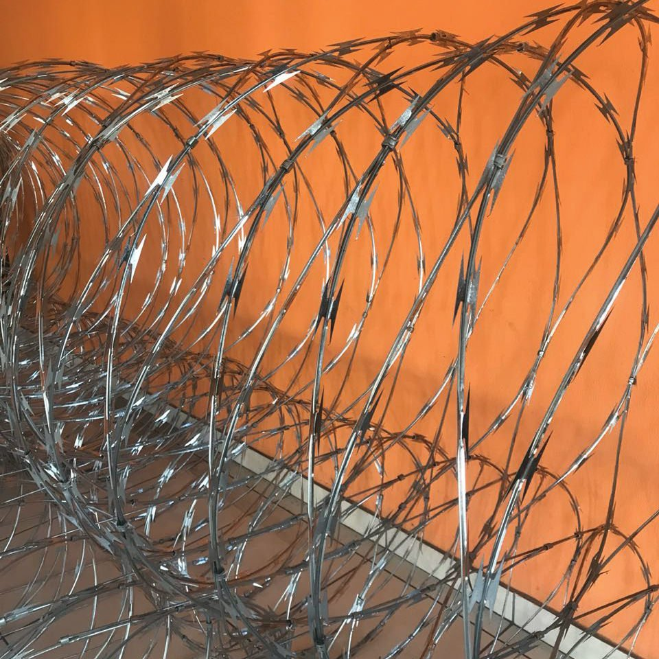 Concertina razor wire long tape blade profile