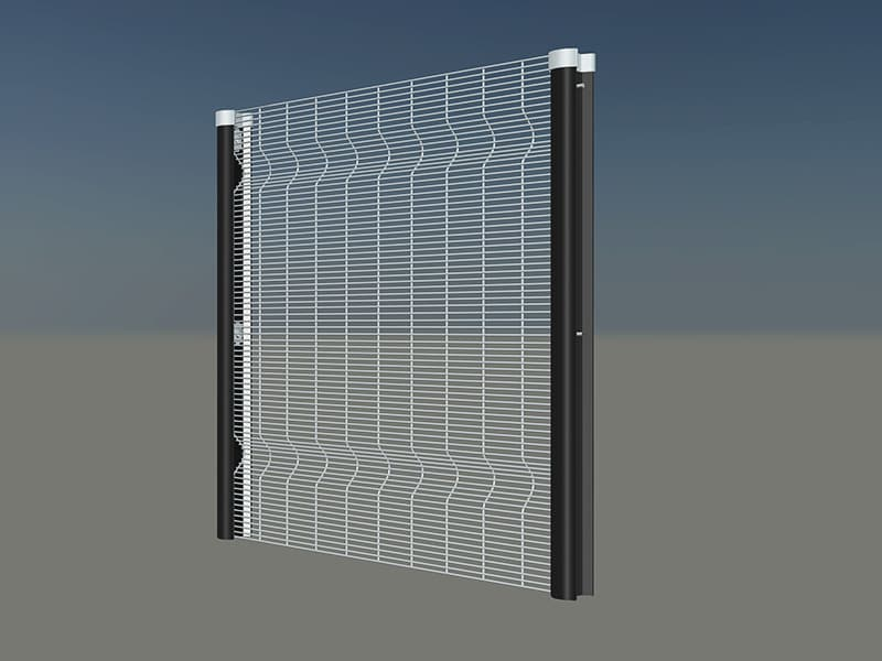 354 clear view welded mesh fencing panel density 21.7mm x 100mm