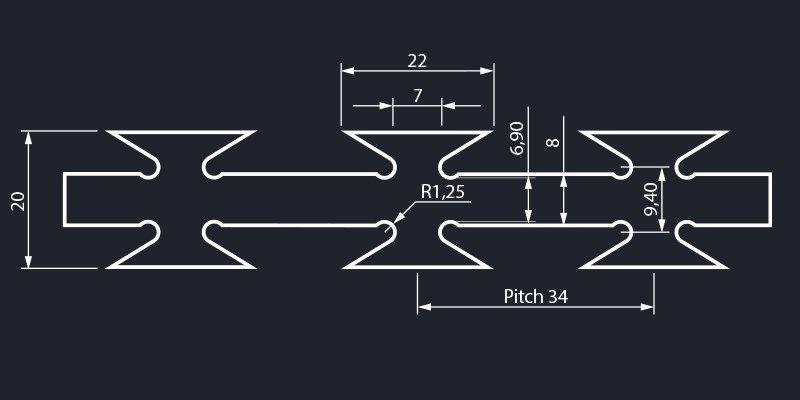 Razor wire barbed tape concertina dimensions