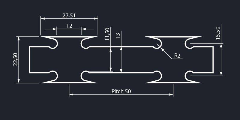Razor wire standard blade tape concertina dimensions