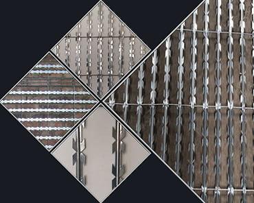 Razor wire blade mesh