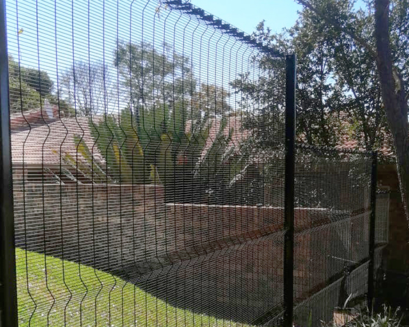 358 mesh clear view fencing