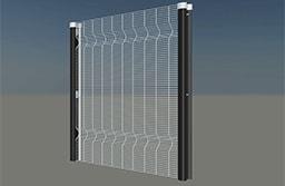 358 high-density mesh welding panel apertures 100mm x 12.7mm