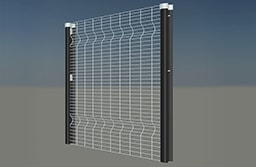 Clear view mesh welding panel parkview apertures 100mm x 25mm