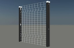 Clear view mesh welding panel ecoview apertures 100mm x 50mm