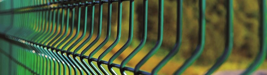 Coated fence panels using Plascoat WireGuard