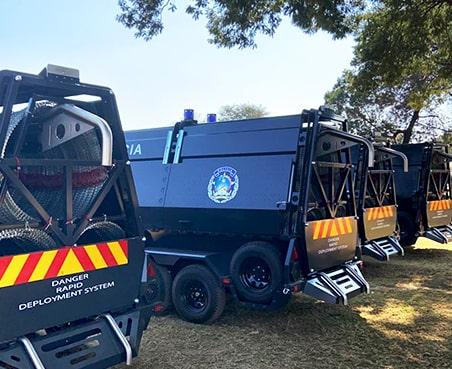 Policia rapid deployment system demonstration