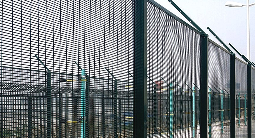 358 high security fencing prison application