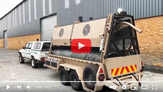 Deploy rapid deployment barriers